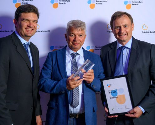 Mottakelse aquaculture awards